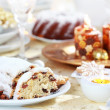 Royalty-Free Stock Photo: Christmas stollen