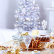 Place setting for Christmas — Stock Photo #7227814
