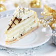 Stock Photo: Marchpane cake for Christmas