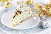 Marchpane cake for Christmas — Stock Photo