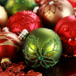 Christmas ornaments — Stockfoto #7471709