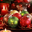 Christmas ornaments — Stockfoto #7471731