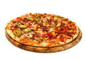 Mexican pizza — Stock Photo