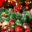 Christmas ornaments — Stockfoto #7573573