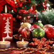 Christmas ornaments — Stockfoto #7573624