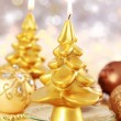 Stockfoto: Christmas candle