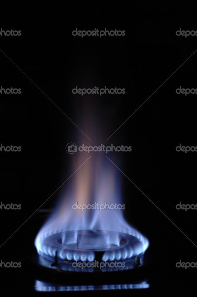 Gas flame — Stock Photo #6804158