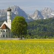 Bavarian church — Stock Photo