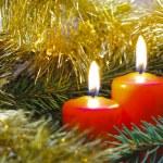 Bougies de Noël — Photo