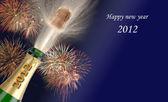 Nieuwe jaar 2012 — Stockfoto