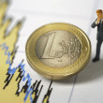 crisi dell'euro — Foto Stock