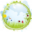 Royalty-Free Stock Vector Image: Spring border
