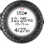 fitness relógio e monitor de freqüência cardíaca — Vetorial Stock