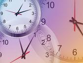Orologio sfondo — Vettoriale Stock