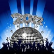 2012 Party — Stock Vector