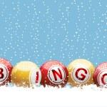 Christmas bingo background — Stock Vector #7661792
