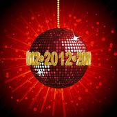 2012 disko topu — Stok Vektör