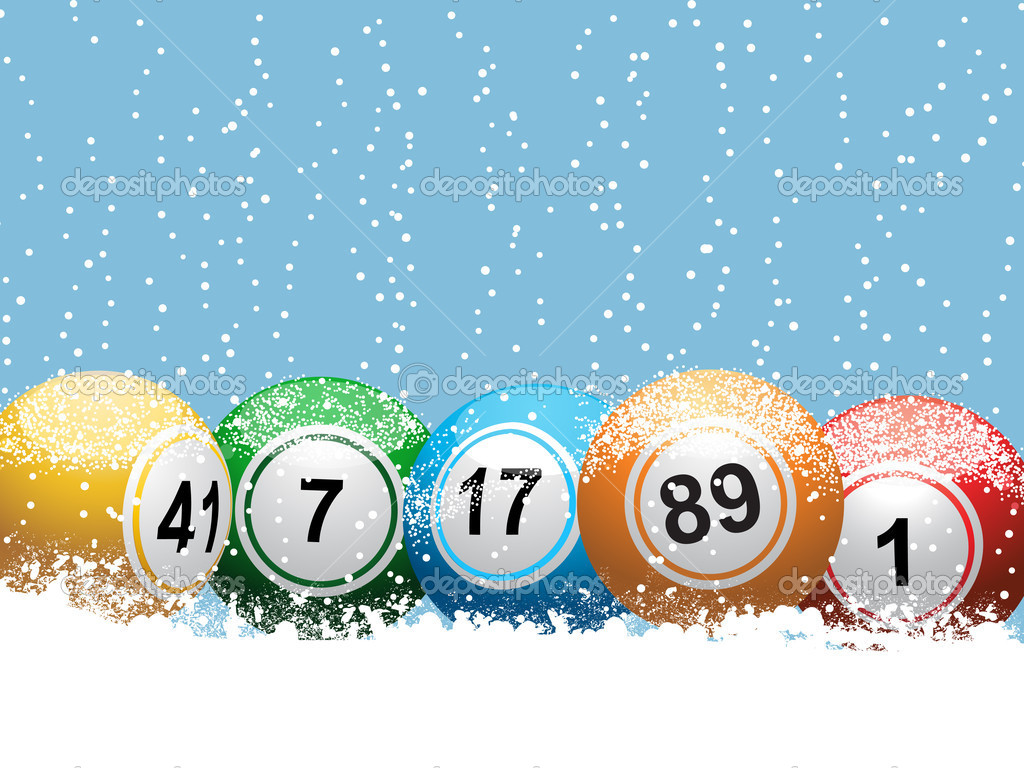 Christmas lottery bingo background — Stock Vector © elaineitalia ...