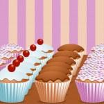 Cupcakes — Stock Vector #7922854