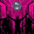 Royalty-Free Stock Vector Image: Disco dancers