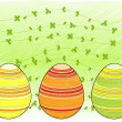 Royalty-Free Stock Vector Image: Line drawn easter eggs