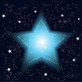 Musujące gwiazdki uroczysty — Wektor stockowy