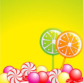 Candy background — Stock Vector