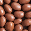 Almonds in chocolate — Stock fotografie