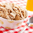 Cinnamon cereal in bowl — Stock Photo #6999470