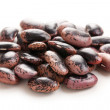 Color beans on white background — Foto de Stock