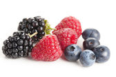 Lesní ovoce — Stock fotografie