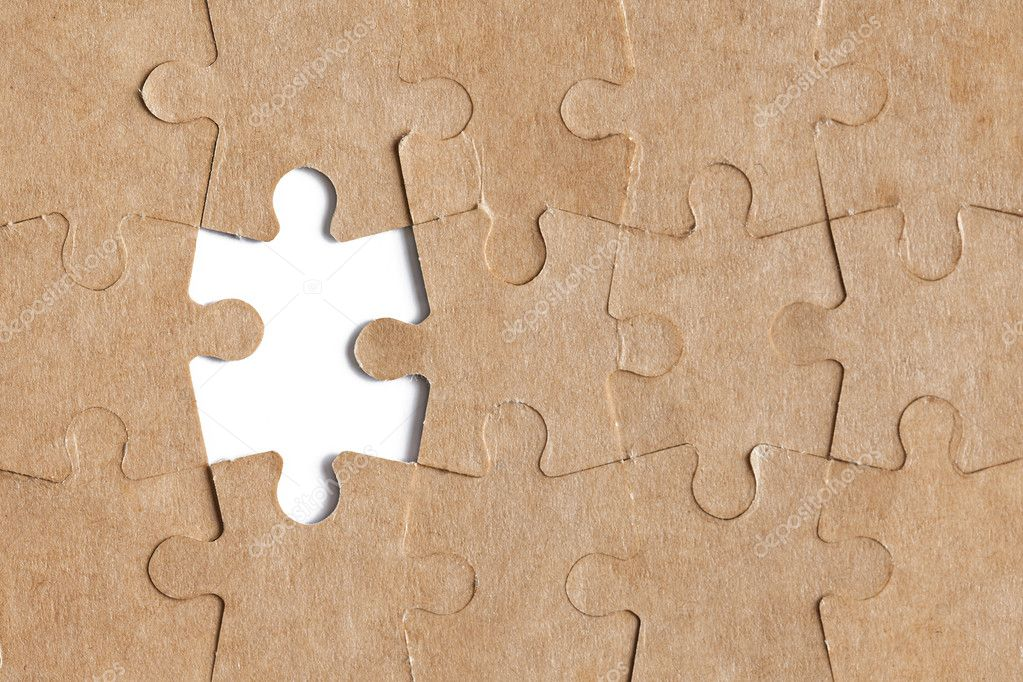 Photo shot of puzzle background — Stock Photo #6999984