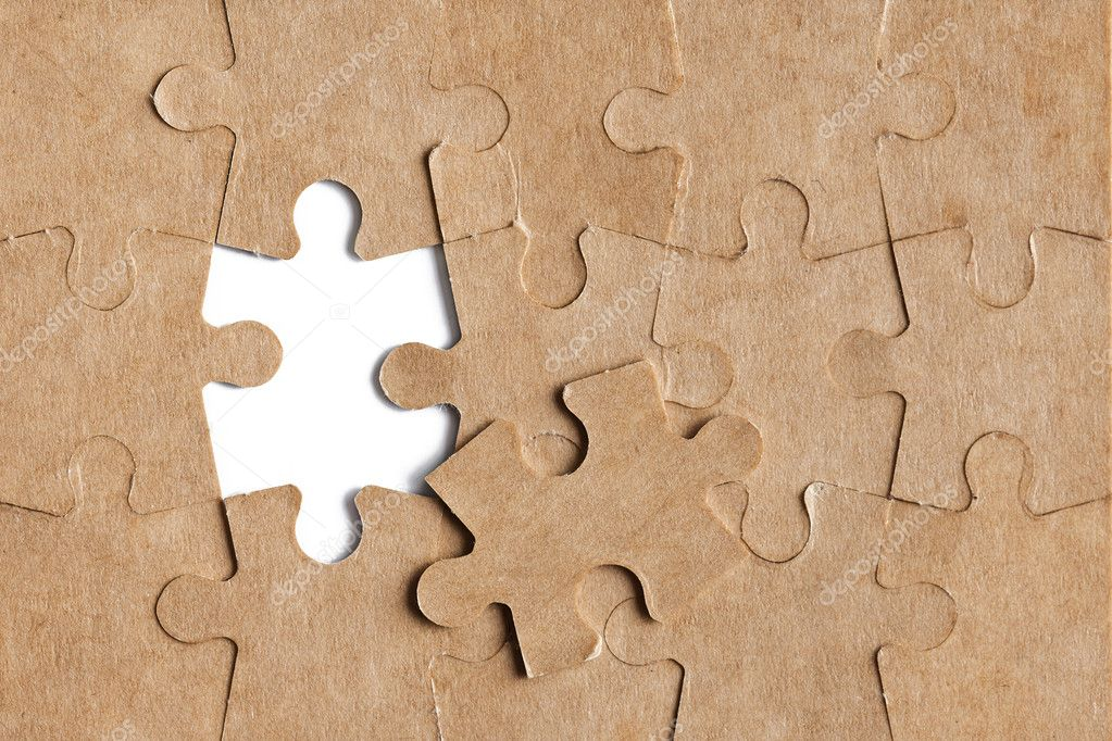 Photo shot of puzzle background — Stock Photo #6999987