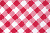 Padrão de xadrez branco e vermelho — Foto Stock