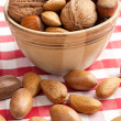 Stock Photo: Various nuts