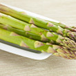 Fresh green asparagus — Stock Photo #7097877