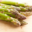 Fresh green asparagus — Stock Photo #7098226