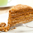 Sweet honey-cake — Stock Photo