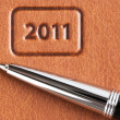 Stock Photo: New year business background