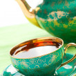 Stock Photo: Tein antique porcelain mug
