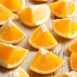 Cut orange — Stock Photo #7103570