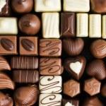 Various chocolate pralines — Stock Photo #7109827