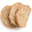 Whole wheat bread — Foto de Stock