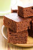 Sweet chocolate dessert — Stock Photo