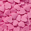 Pink hearts background — Stock fotografie