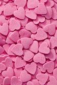 Rosa hjärtan bakgrund — Stockfoto