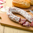 French white sausage — Stock Photo