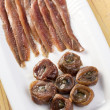 Anchovies fillets — Foto Stock