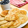 Pancakes on plate — Stock Photo #7155572