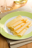 Slices cheese — Stock Photo